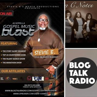 Stevie B's Acappella Gospel Music Blast - (Episode 78)