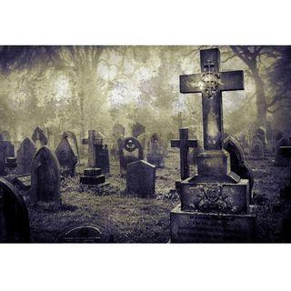 """""""Había un hombre que vivía junto a un cementerio"""" by M. R. James"""