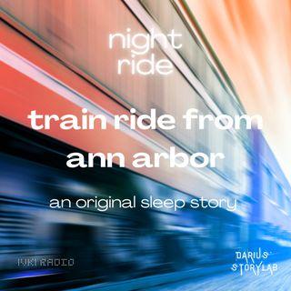 Train Ride From Ann Arbor