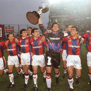 Soriano e il titolo del San Lorenzo nel 1995