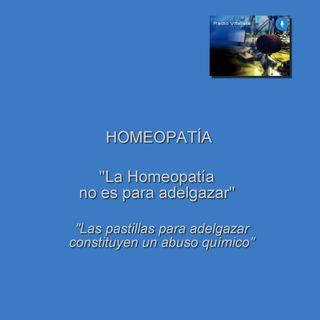 La Homeopatía no es para adelgazar