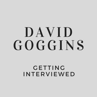 David Goggins Getting Interviewed