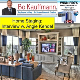Home Staging:  Interview with Home Stager Angie Kendel