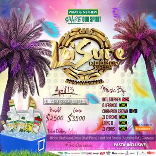 LEISURE COOLER FETE APRIL 13TH PROMO MIX