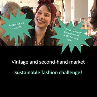 Un mercato di artigianato e second-hand: 3 amici e la sfida di moda sostenibile!