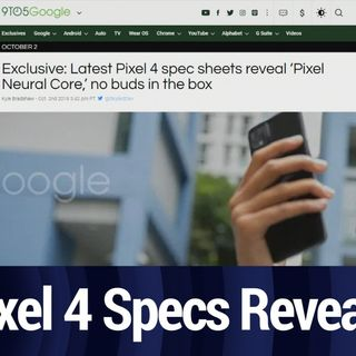 Pixel 4 Specs Revealed | TWiT Bits