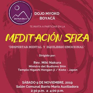 Meditación Seiza en Duitama