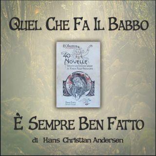 Quel che fa il babbo è sempre ben fatto: l'audiolibro delle novelle di Andersen
