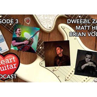 Dweezil Zappa, Matt Heafy, Brian Vodinh