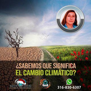 NUESTRO OXÍGENO sabemos que significa mitigar el cambio climatico - Ing. Adriana Maritza Terreros