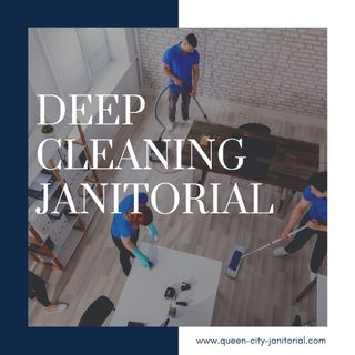 Deep Cleaning Janitorial Services in NYC
