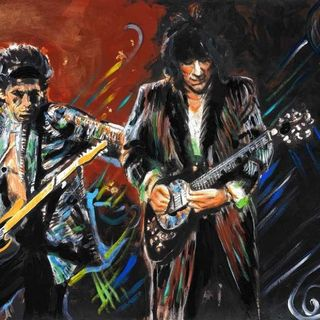 Feel The Fire With Ronnie Wood
