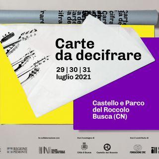 """Davide De Luca """"Carte da decifrare"""""""