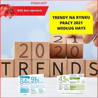 #381 Trendy na rynku pracy 2021 według HAYS