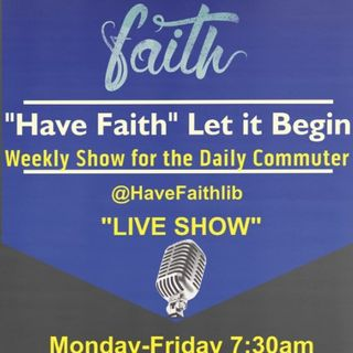 Have Faith Let it Begin Live Sermon