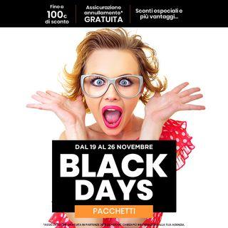 vacanze alla radio puntata 21 novembre black friday