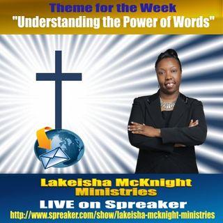 Understanding the Power of Words (1 of 5)