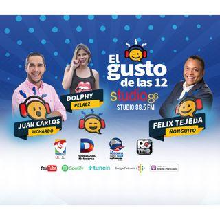 El Gusto de las 12- Episodio 35- Agosto 16-2019- Marola Vargas y Noel Ventura