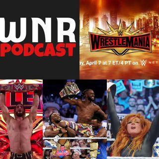 WNR214 WWE WRESTLEMANIA 35