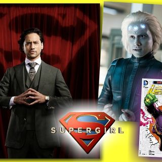 #308: Jesse Rath from Supergirl on bringing Brainiac 5 to life!
