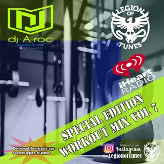 DJ A-roc Workout Mix Vol 7  60min for cardio, training and dancing