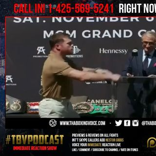 ☎️Immediate reaction Canelo vs Plant🔥Plant Slaps The Sh!t Out Of Canelo At Press Conference😱