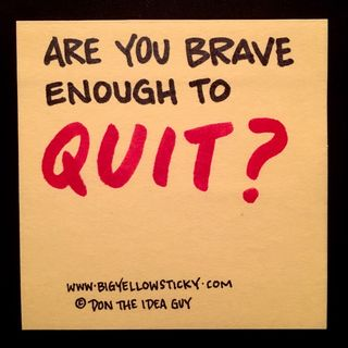 Brave Quitter : BYS 084