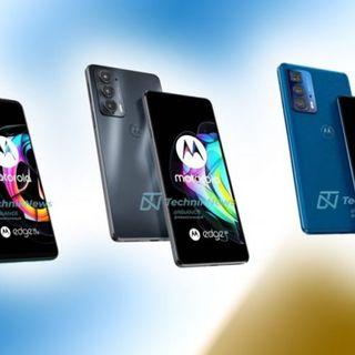 Presentazione serie smarthone Motorola Edge 20