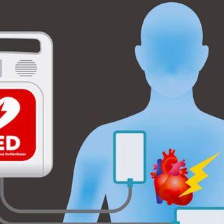 Defibrillatori sparsi