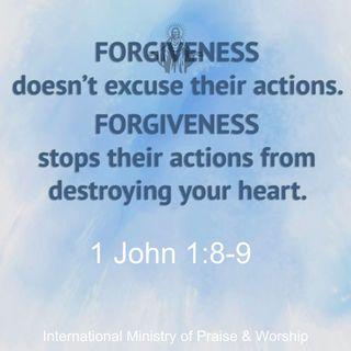 Forgiveness bring peace