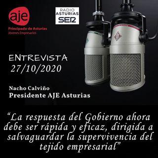 Entrevista Hoy por Hoy Asturias 27/10/20