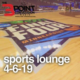 The 3 Point Conversion Sports Lounge- Hawks (Pride or Picks), Final Four, All-Time Movies Final, Braves Hot, Cubs Not,