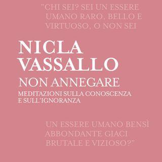 """Nicla Vassallo """"Non annegare"""""""