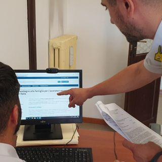 Reddito di cittadinanza senza titolo: Fiamme Gialle recuperano 60 mila euro da 7 furbetti