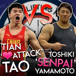 Tian Tao vs Toshiki Yamamoto 'Battle of the Squats' | WL News