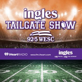 Ingles Tailgate Show #3 - Clemson vs Virginia 10-03-2020