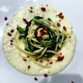 Le ricette di Café Bleu - I tagliolini con la cicoria selvatica