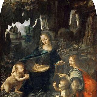 Leonardo da Vinci. La Vergine delle rocce