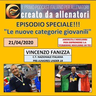 """Episodio 111: Vincenzo Fanizza """"Nuove categorie giovanili"""""""