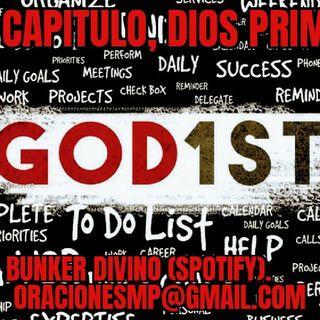 Busca a Dios First