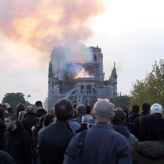 El sábado, primera misa en Notre Dame después del incendio