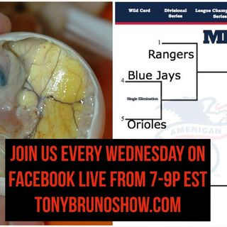 #BrunoNation LIVE 10/12 - Hr1 -  If Tony were Naked and Afraid, what would he eat?