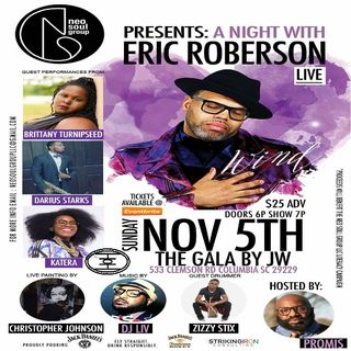 A Night With Eric Roberson presented by the Neo Soul Group