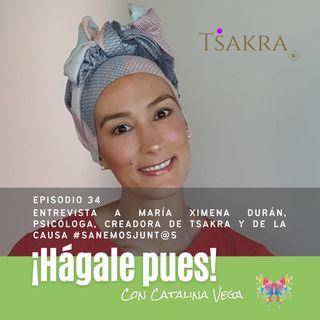 Episodio 34_Entrevista a María Ximena Durán