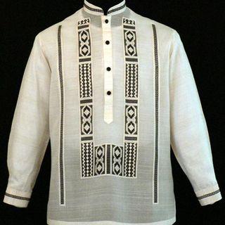Classic Pina-Jusi Fabric Barong Tagalog