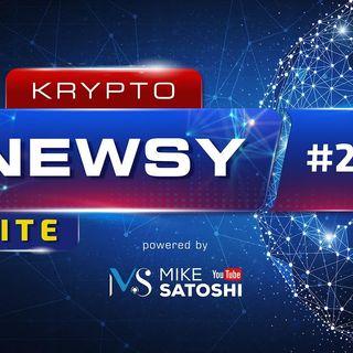 Krypto Newsy Lite #217 | 07.05.2021 | Dogecoin dalej leci w kosmos, Amerykanie kupią krypto w bankach, Bitcoin odbija od $53k