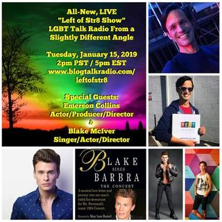 Left of Str8 Show:  Special Guests Emerson Collins and Blake McIver