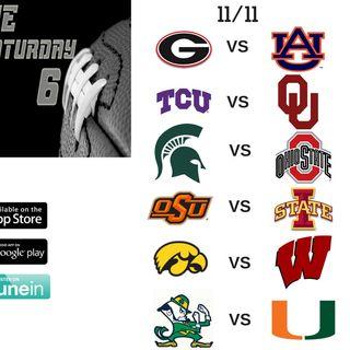 The Saturday Six - November 11th