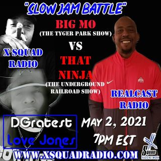 DGratest Sunday Night Love Jones Presents : The Battle of The Slow Jams Part 17 : BigMo vs That Ninja