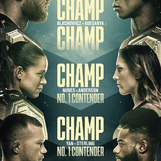 Preview Of UFC259 PPV Headlined By Israel Adesanya Vs Jan Blachowicz For The Light-Heavyweight Title Live On ESPN Plus From Las Vegas
